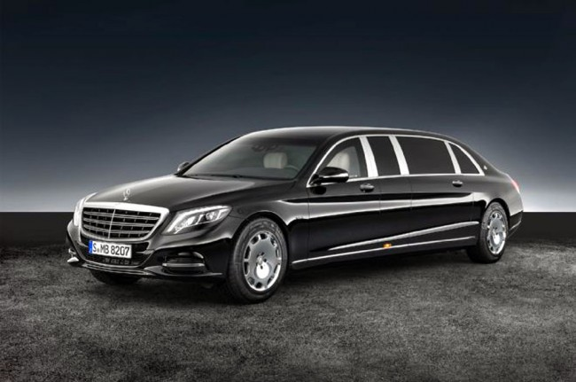Maybach S600 Pullman Guard, Limusin Anti Peluru