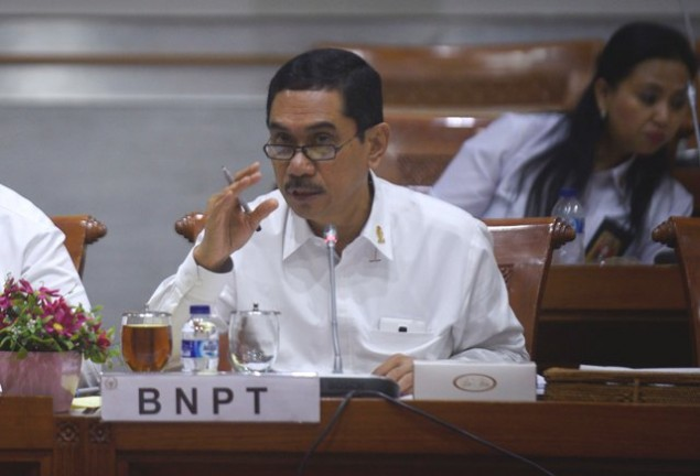 Indonesia Needs Proper Terrorism Law: BNPT Head