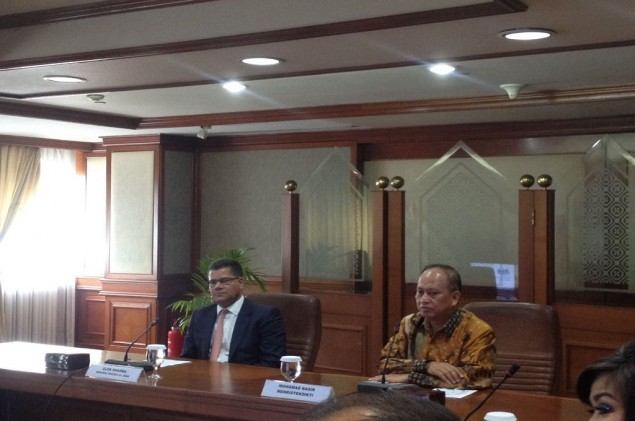 British Minister Visits Indonesia to Boost Trade Relations