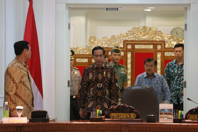 Jokowi Observes Search in Transportation Ministry