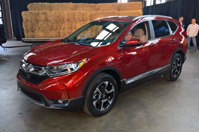 Mengintip Spesifikasi Honda All New CR-V 2017