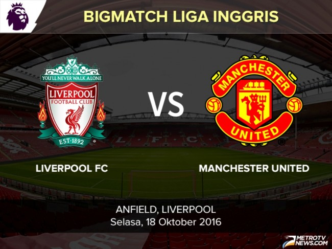 <i>Head to Head</i> Liverpool vs Manchester United: Siapa Lebih Unggul?