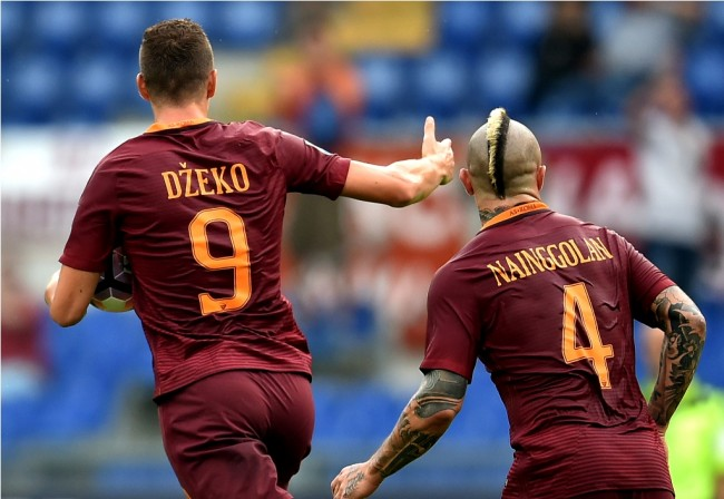 Susunan Pemain Napoli vs AS Roma