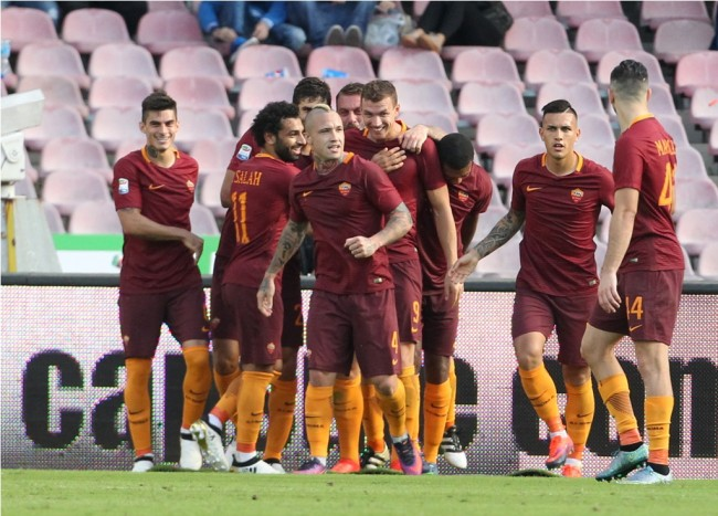 AS Roma Mempermalukan Napoli