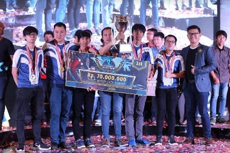 Fortius Gaming Boyong Gelar Juara Utama League of Legends Indonesia Championship 2016