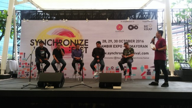 Synchronize Festival Pastikan 104 Band akan Tampil