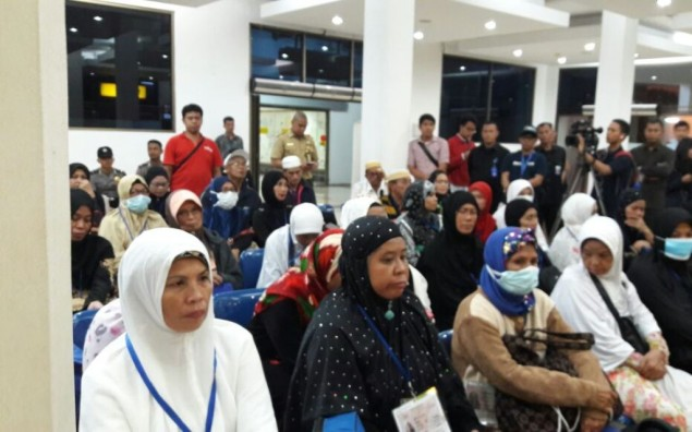 Gov't Repatriates 106 Indonesian Hajj Pilgrims from Philippines