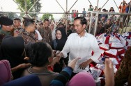 Jokowi's Approval Rating Reaches 69%