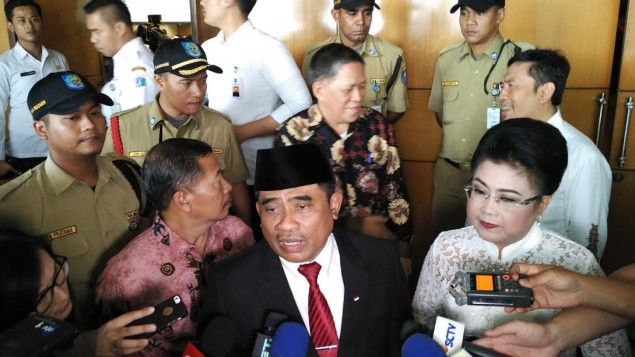 Home Minister Appoints Acting Jakarta Governor