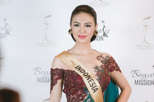 Wakil Indonesia Juara Miss Grand International 2016