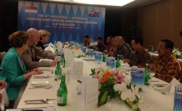 Indonesia and Australia Start Two-Plus-Two Meeting