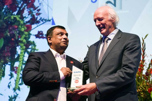 Tony Fernandes Terima Penghargaan CAPA CEO of The Year