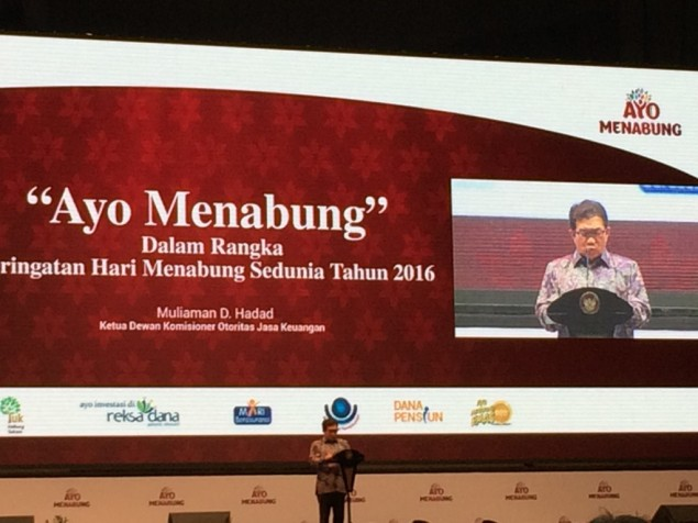 Indonesia's Savings Ratio Only 31%: OJK