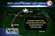 SAR Team Still Searching Missing Cargo Plane in Papua