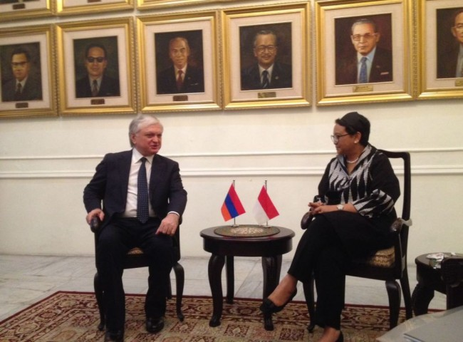 Indonesia & Armenia to Strengthen People-to-People Contacts