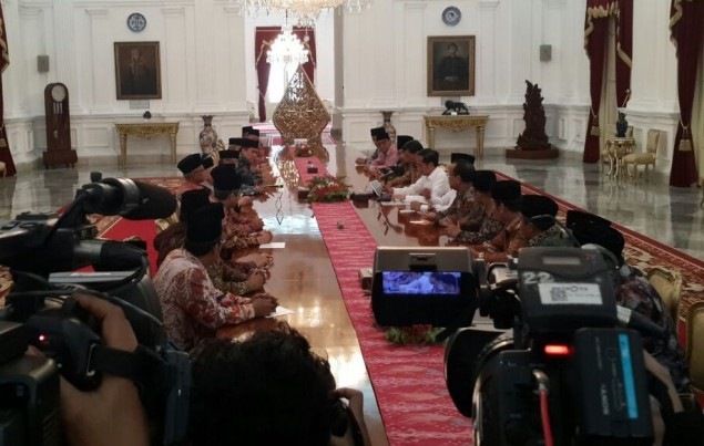 Jokowi Invites Ulamas to Palace
