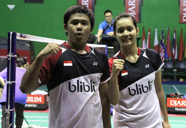 Indonesia Borong Tiga Gelar di <i>International Challenge 2016</i>