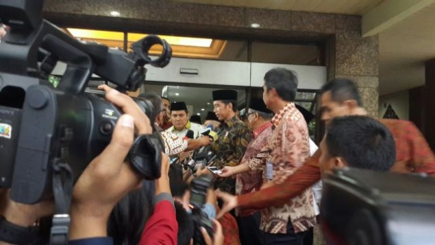 Jokowi Thanks NU Leaders