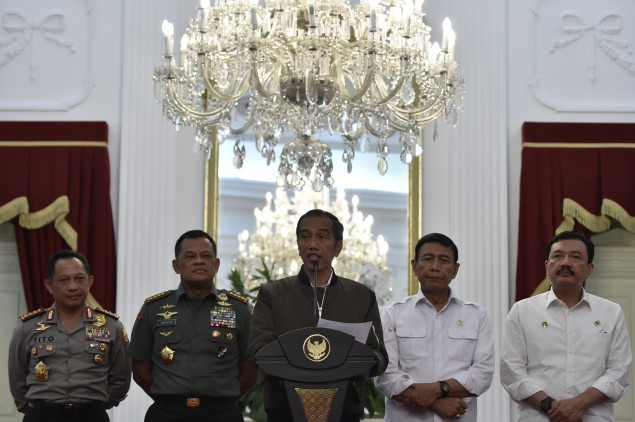 Jokowi to Meet Several Islamic Organizations