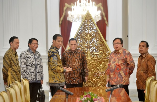 Jokowi to Meet Political Party Leaders