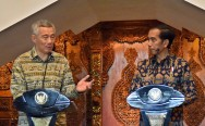 Jokowi, PM Lee Discuss Economic Cooperation