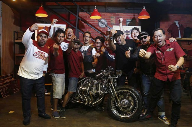 <I>Builder</i> Indonesia Pamer Karya di Yokohama Hot Rod Custom Show 2016