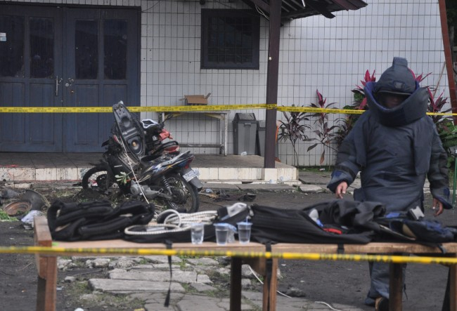 Densus 88 Investigates Samarinda Church Attack Case