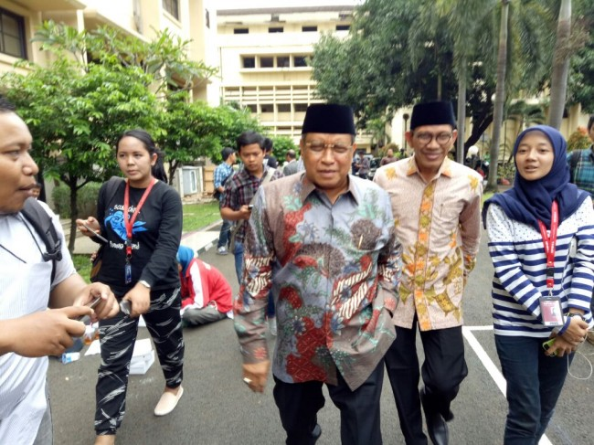 PBNU Chairman Attends Case Expose on Ahok's Blasphemy Case