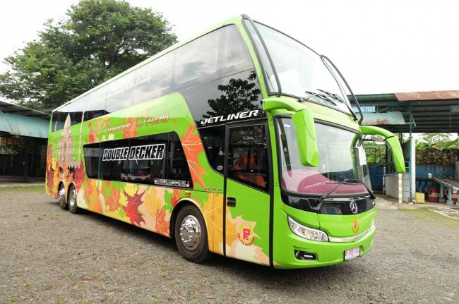 'Kencan' Singkat dengan Jetliner Double Deck RS