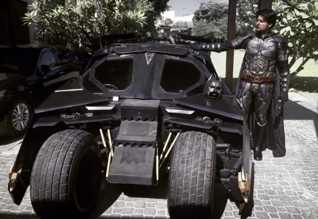 Ini Mobil Batman <i>made in</i> Pakistan