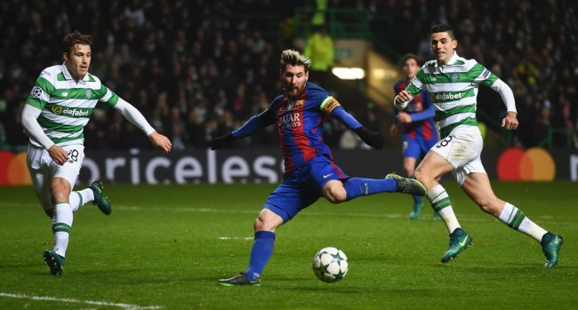 Gebuk Celtic, Messi Catat Rekor 100 Gol