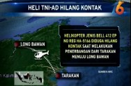 Army Helicopter Missing in Tarakan