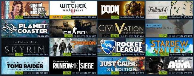 Diskon Lagi, Steam Gelar Autumn Sale Sampai Akhir November