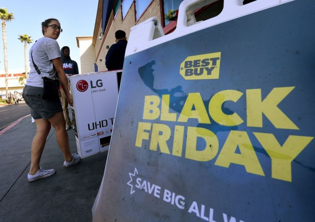 Black Friday, Wall Street Sentuh Rekor Tertinggi
