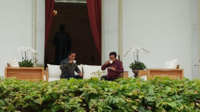 Jokowi Meets With PKB Chairman