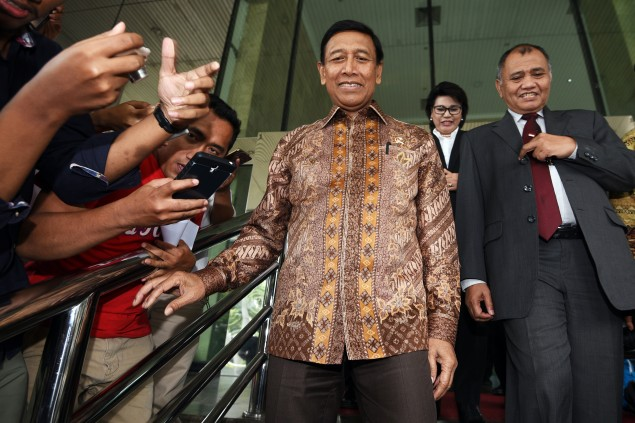 Wiranto Urges Calm Ahead of Dec 2 Rally