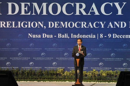Presiden Buka Bali Democracy Forum IX