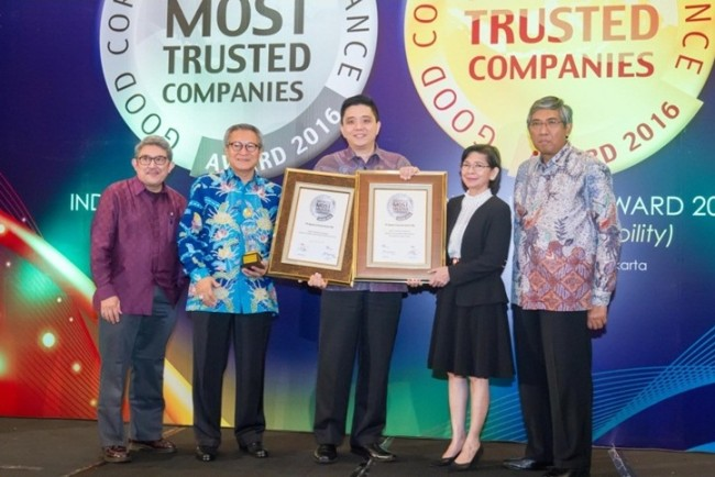 BCA Raih Penghargaan Good Corporate Governance 2016