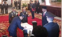 Hadi Tjahjanto Inaugurated As New Air Force Commander