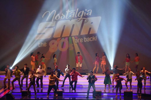 Drama Musikal Nostalgia SMA the 80's Are Back Digelar