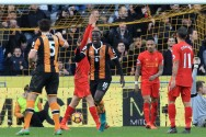 Liverpool Tertunduk di Markas Hull City