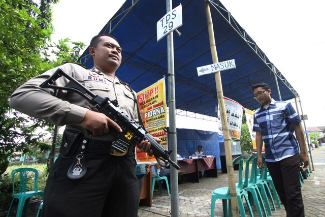 Authorities Will Guard Polling Stations During Jakarta Election: Police