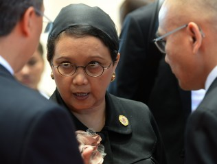 FM Retno Attends G2O Foreign Ministers Meeting