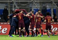 AS Roma Bungkam Inter Milan di Giuseppe Meazza