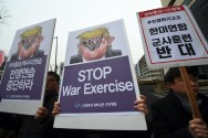 South Korea, US Forces Begin Joint Military Drills