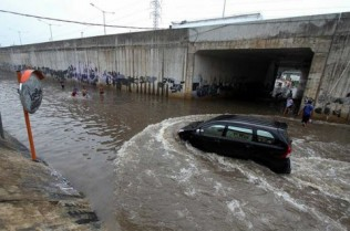 Floodwater Can Harm Brake Pads