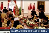 King Salman Meets Indonesian Islamic Leaders