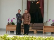 Jokowi-SBY Meet at Presidential Palace