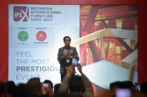 Presiden Buka Pameran Furniture Internasional Indonesia