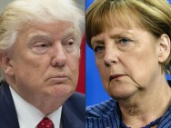 Snow Postpones Trump-Merkel Talks Until Friday